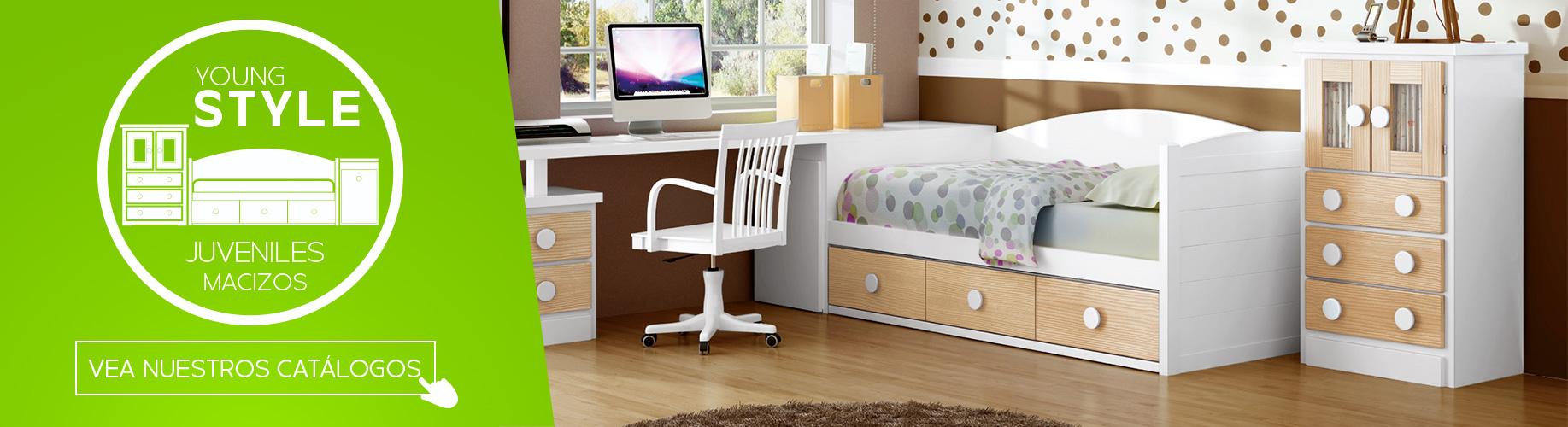 Muebles juveniles macizos
