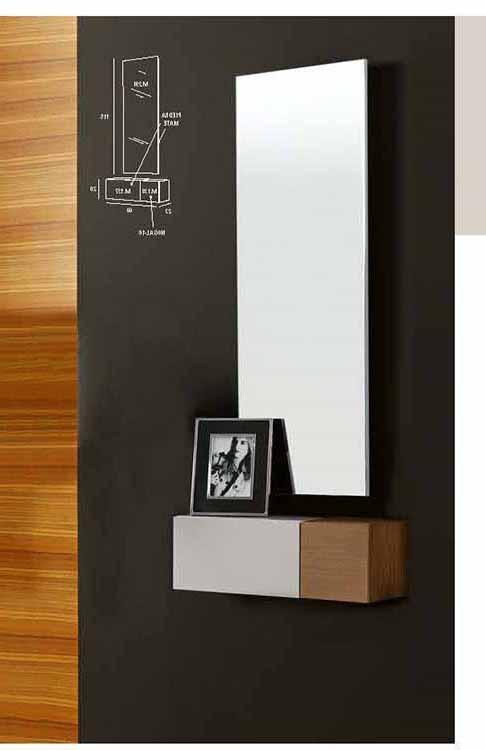 Muebles para la entrada de un piso trendy cocina con - Comoda blanca conforama ...