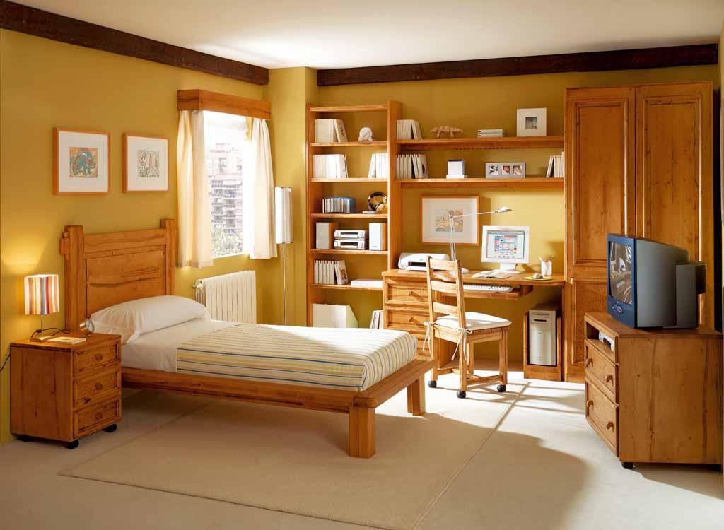 Fotos de decoraci n con camas para ni os for Sofas para habitaciones juveniles