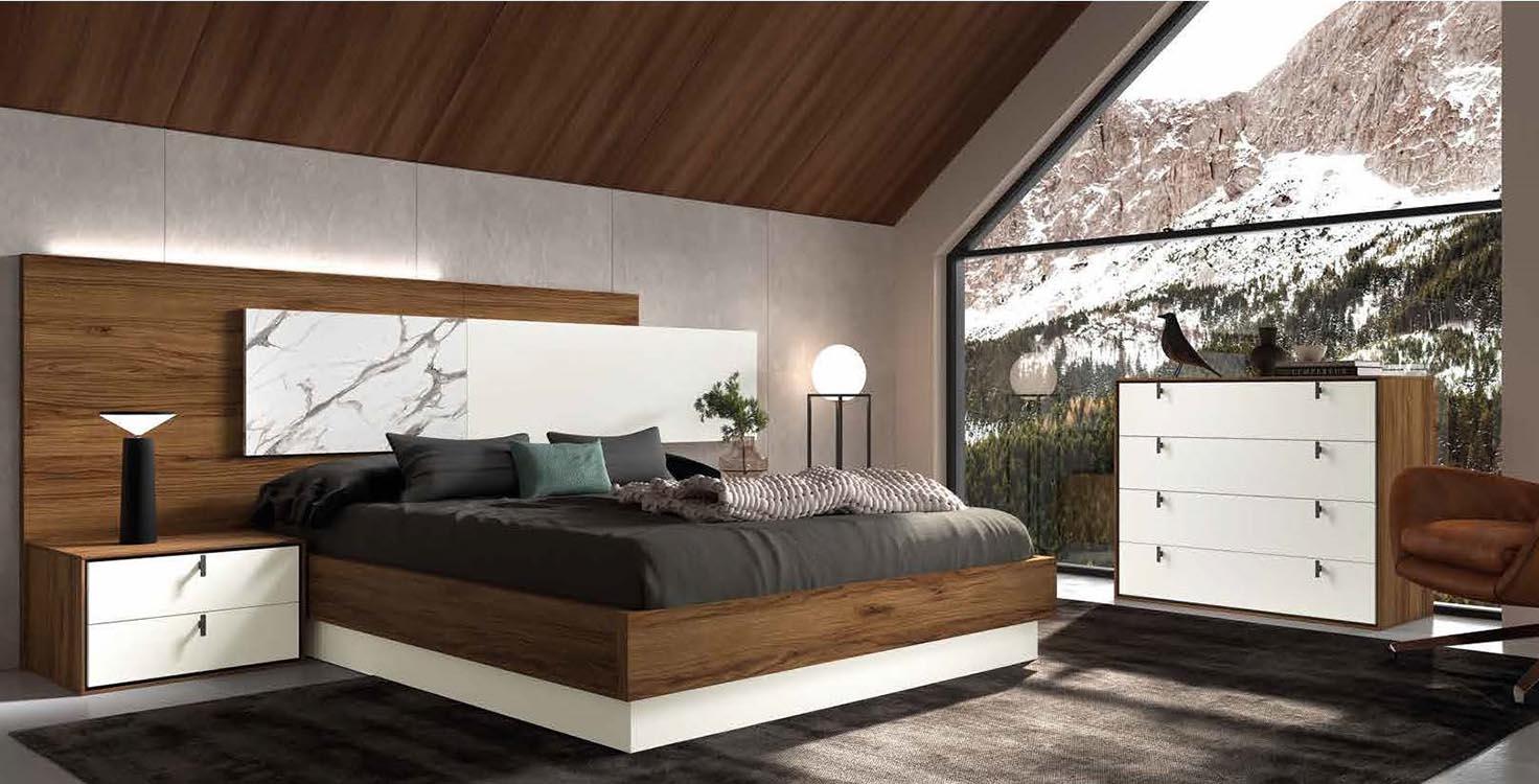 http://www.munozmuebles.net/nueva/catalogo/dormitorios-actuales.html -  Foto de mueble con baldas