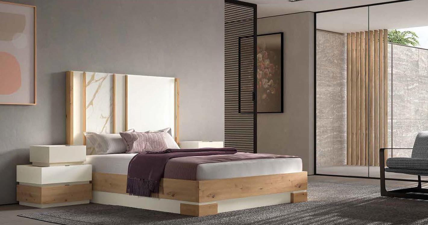Camas altas matrimonio for Dormitorios actuales