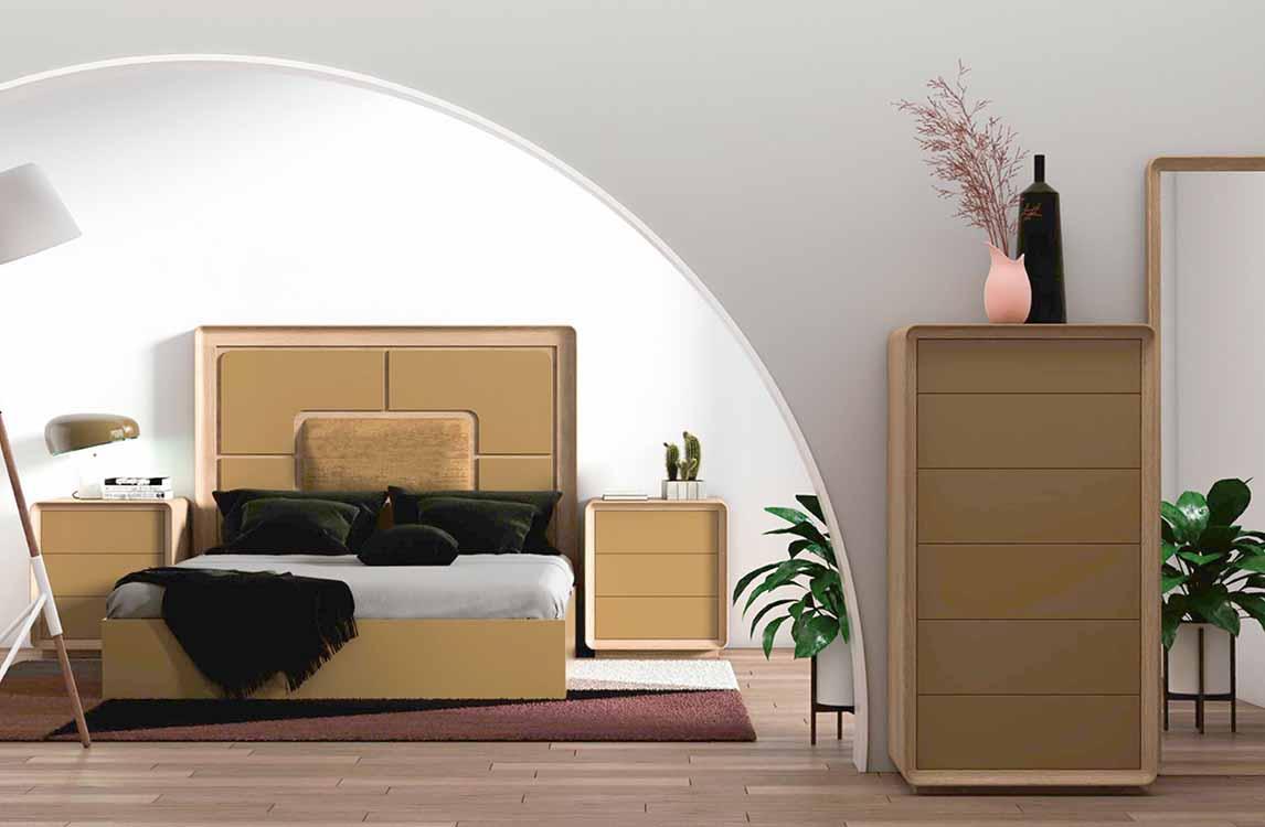 http://www.munozmuebles.net/nueva/catalogo/dormitorios-actuales.html -  Fotos con muebles de color envejecido en Toledo