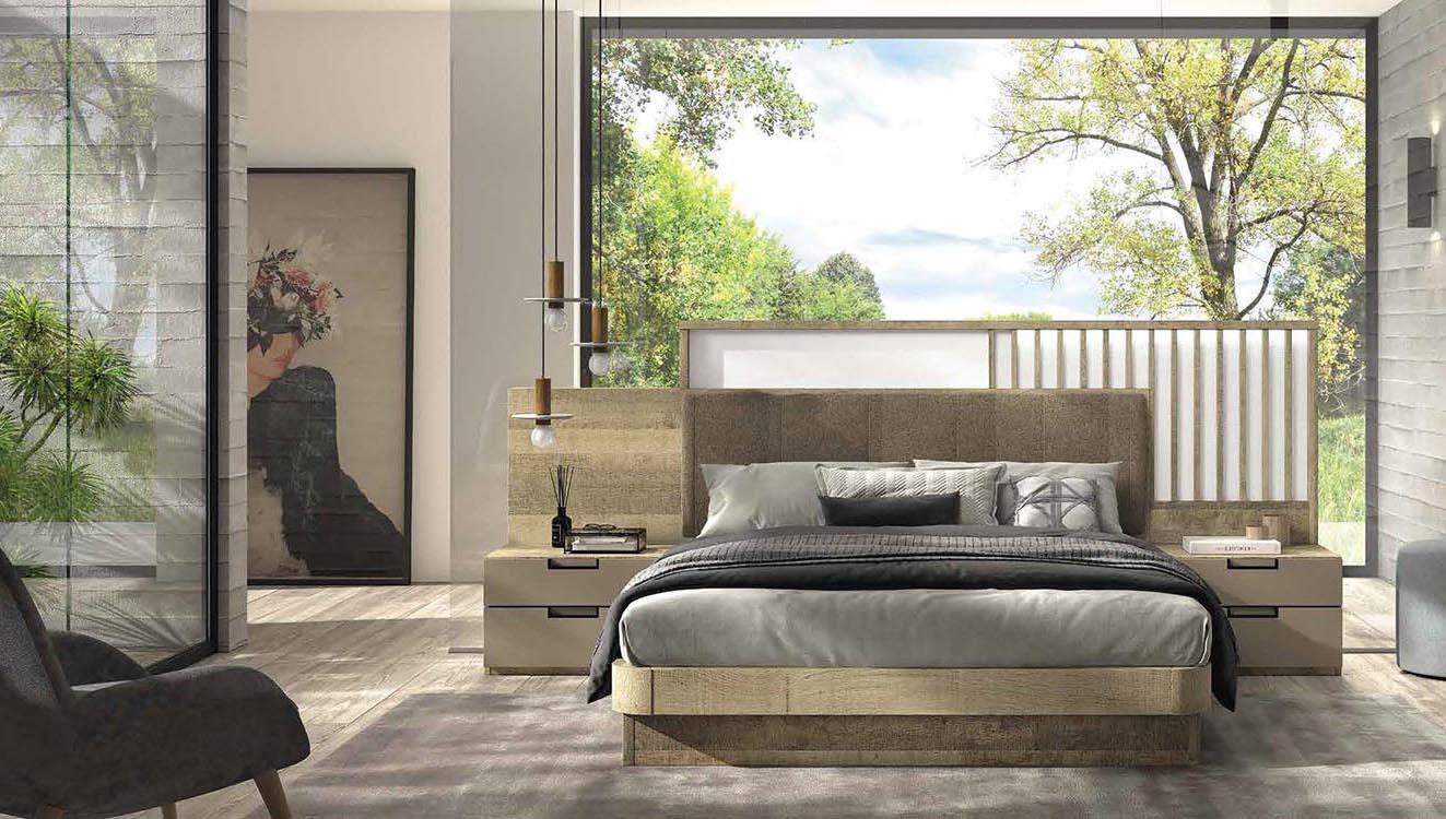 Cabeceros de cama actuales for Dormitorios actuales