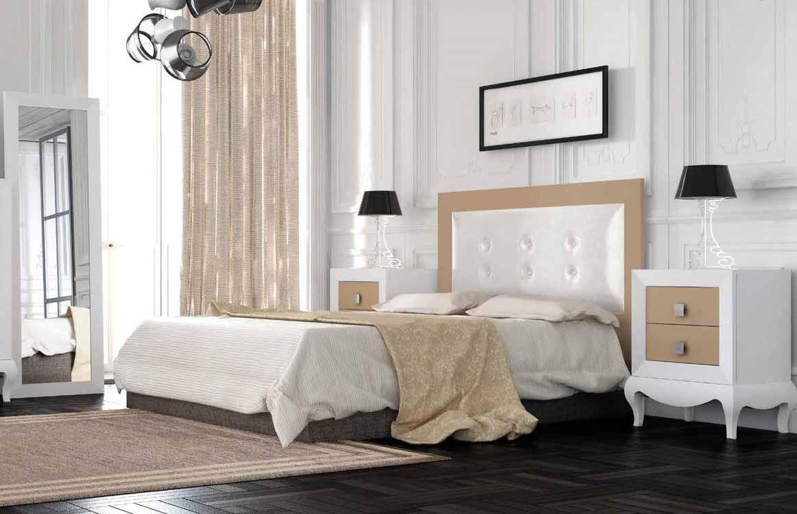 http://www.munozmuebles.net/nueva/catalogo/dormitorios-clasicos.html - Gangas en  muebles de color vainilla