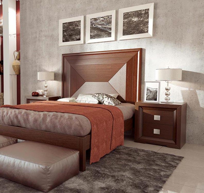 Dormitorio de matrimonio moderno - Dormitorio malva ...
