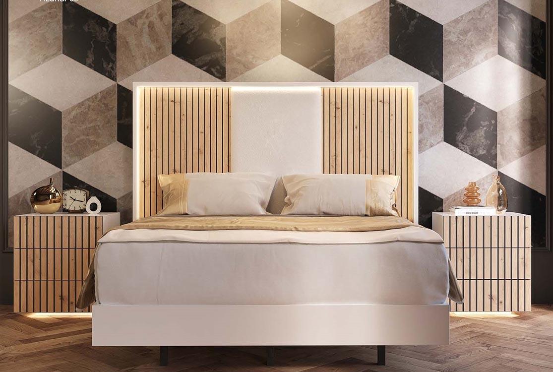 http://www.munozmuebles.net/nueva/catalogo/dormitorios-clasicos.html - Mueble  blanco moderno