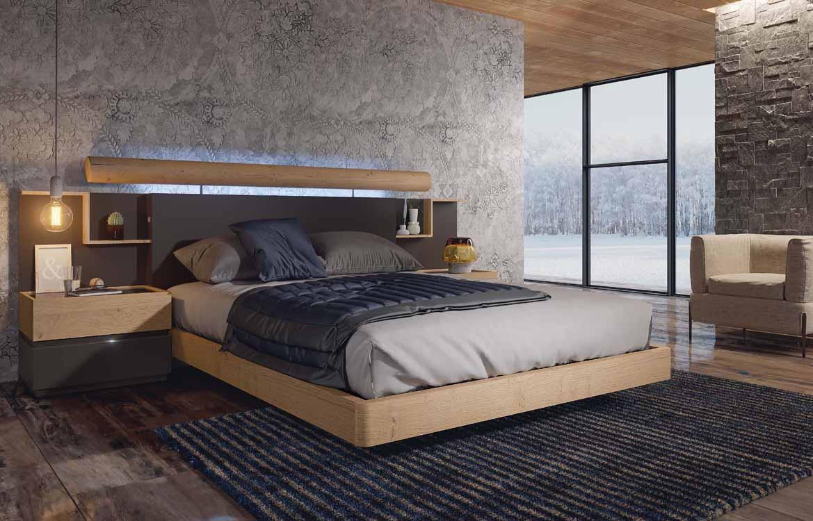 http://www.munozmuebles.net/nueva/catalogo/dormitorios-actuales.html -  Fotografías de muebles de color violeta oscuro