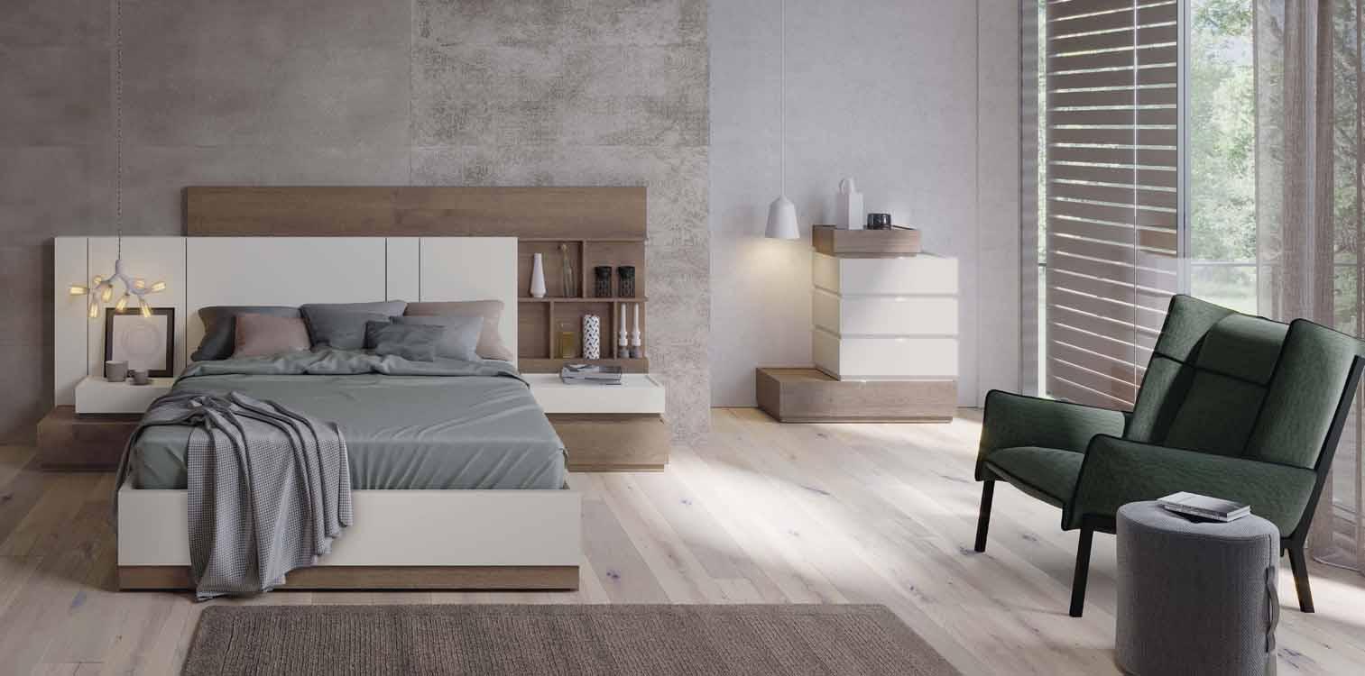 Cabeceros para ni os color casta o for Dormitorios de madera modernos