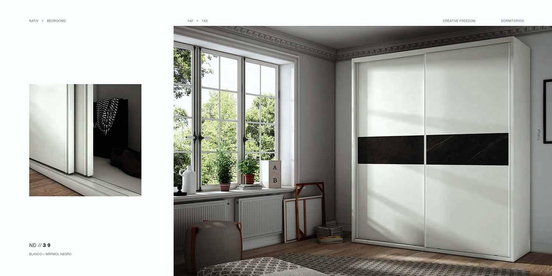 http://www.munozmuebles.net/nueva/catalogo/dormitorios-actuales.html - Fotos de  mueble estrecho en Madrid sur