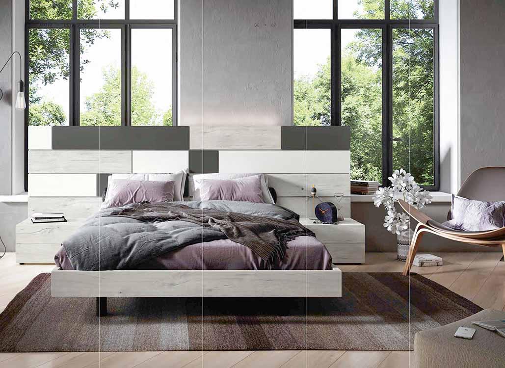 http://www.munozmuebles.net/nueva/catalogo/dormitorios-actuales.html - Foto con  muebles de color magenta