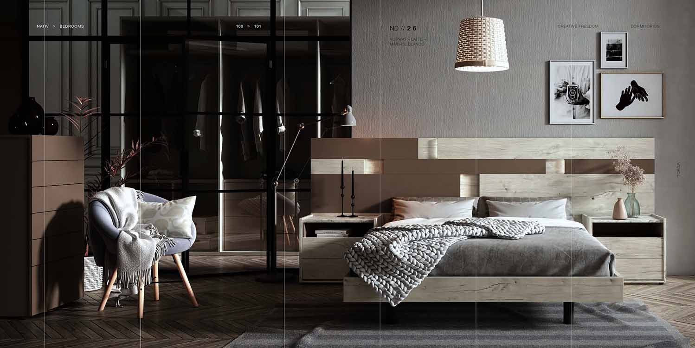 http://www.munozmuebles.net/nueva/catalogo/dormitorios-actuales.html - Medidas  de muebles hermosos