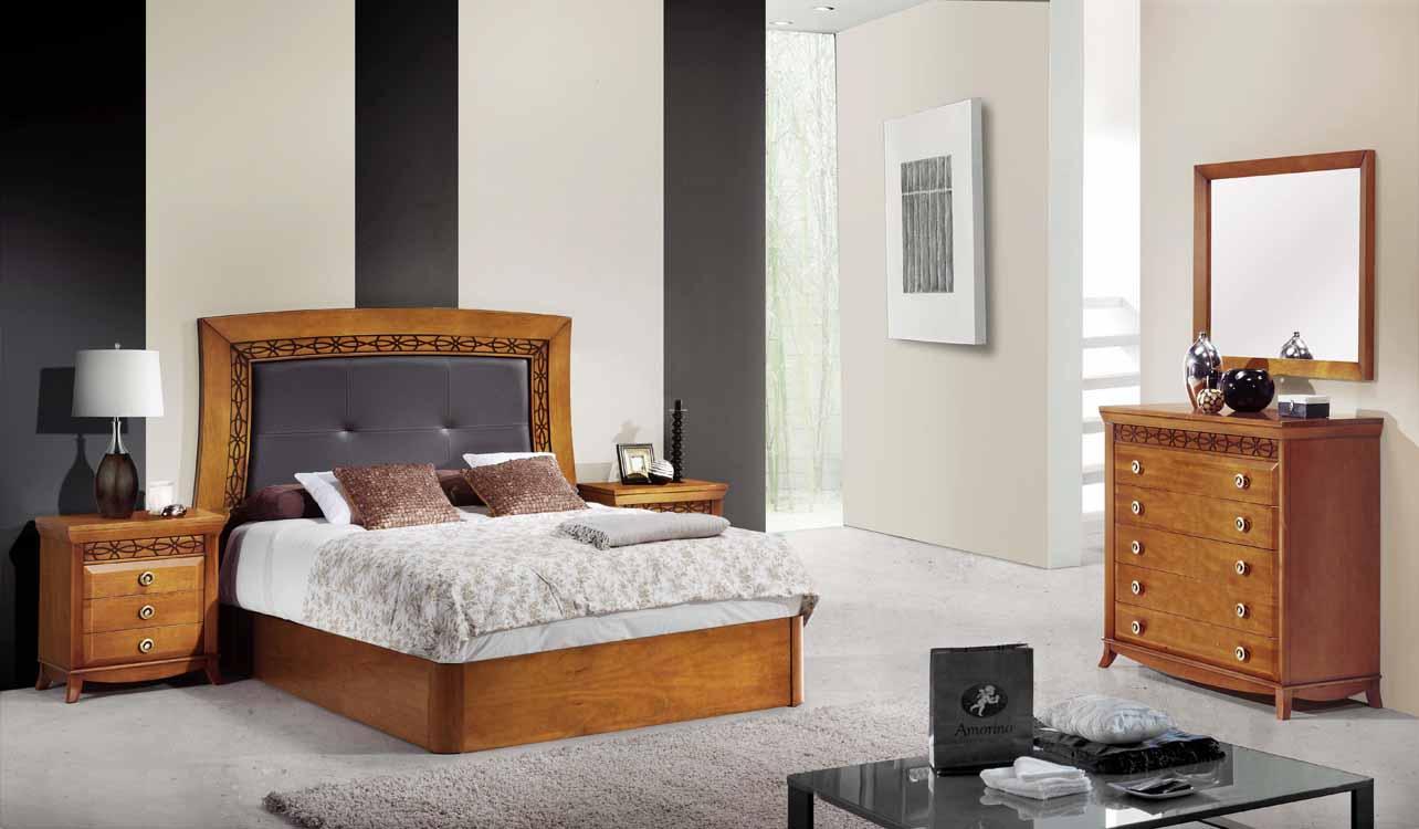 Camas modernas color claro for Habitaciones matrimonio modernas baratas