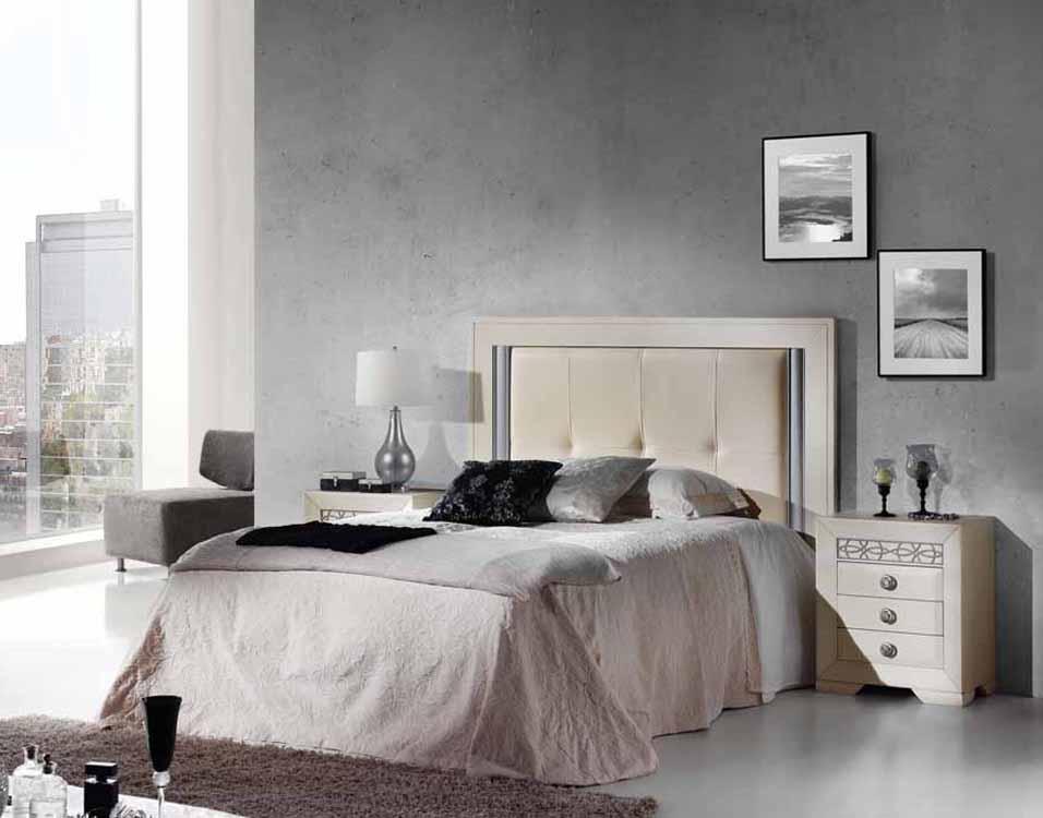Camas de matrimonio lacadas for Dormitorios actuales