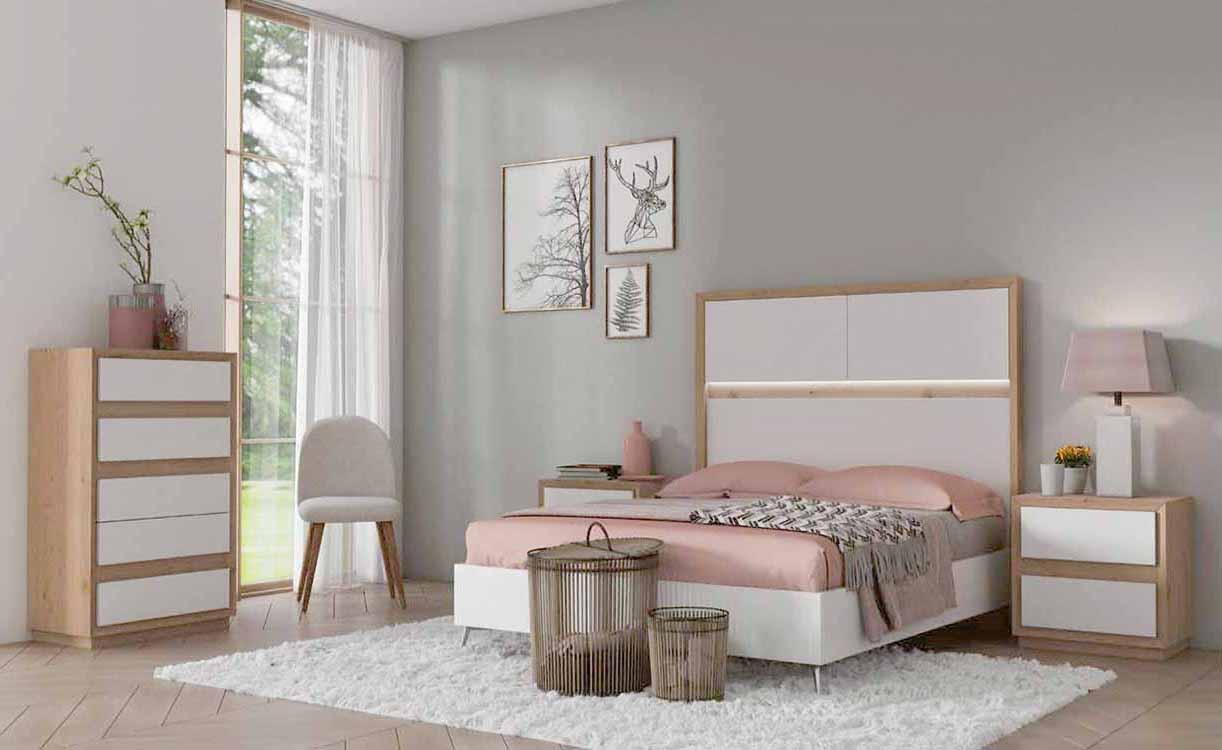 Dormitorios completos baratos for Cuartos completos