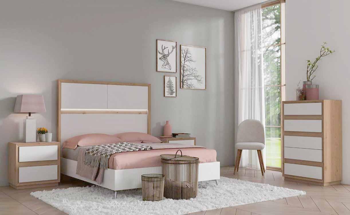 Armarios vestidores blancos for Dormitorios rusticos modernos