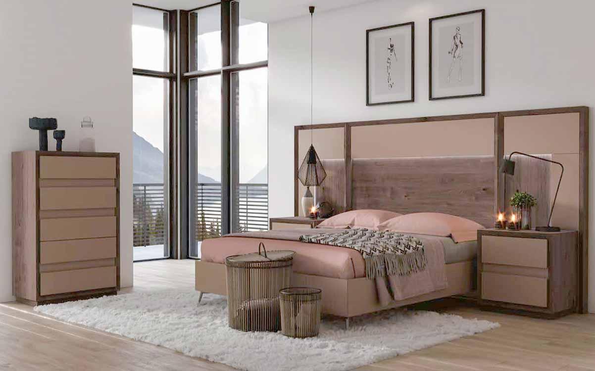 http://www.munozmuebles.net/nueva/catalogo/dormitorios-clasicos.html - Fotografías  de muebles de color rosa en Móstoles