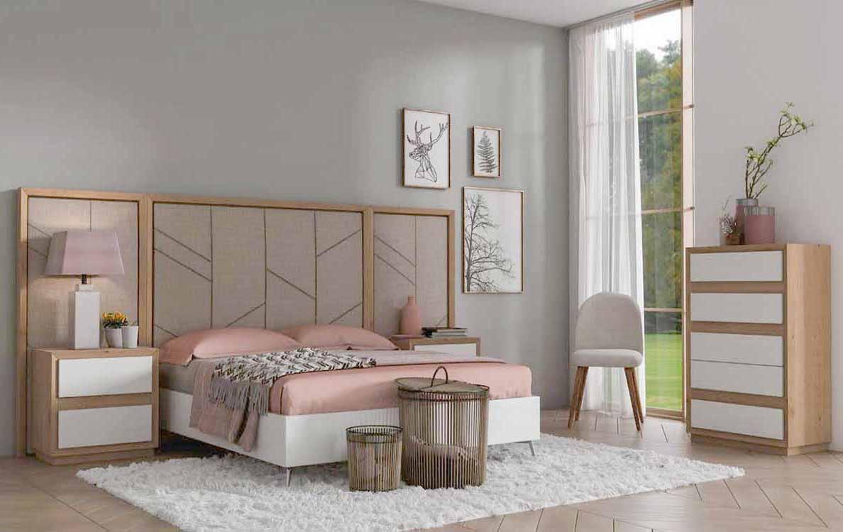 Dormitorios con cama nido for Cama nido con cabecero