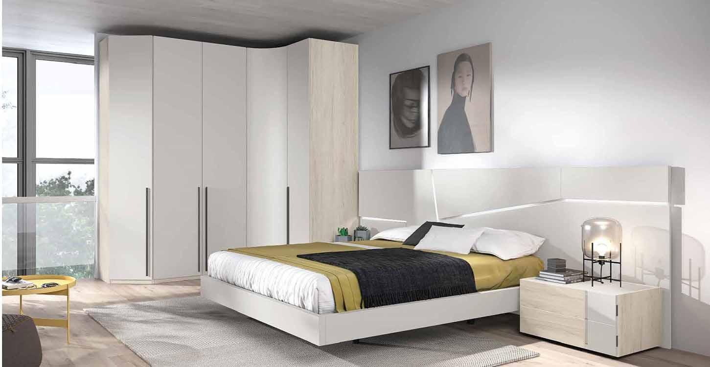 http://www.munozmuebles.net/nueva/catalogo/dormitorios-actuales.html -  Fotografía de muebles de color topacio