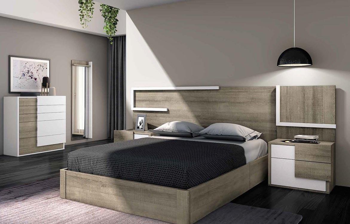 http://www.munozmuebles.net/nueva/catalogo/dormitorios-actuales.html - Fotos  con muebles de madera de avellano