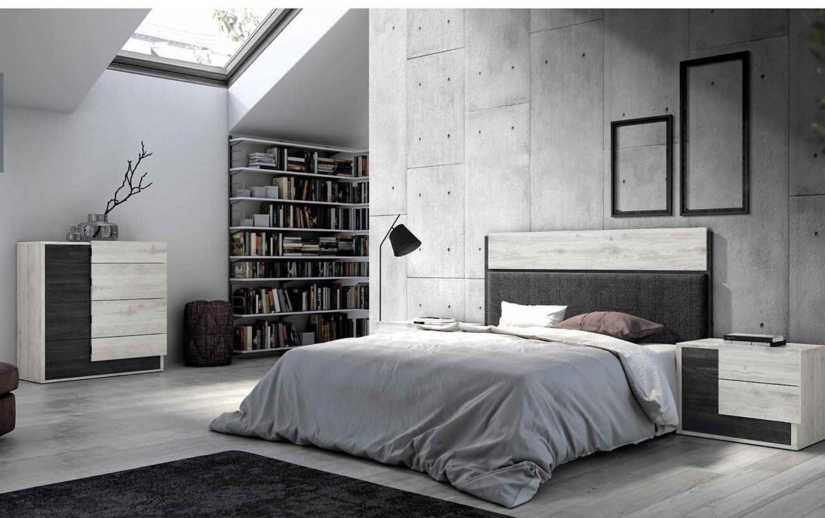 http://www.munozmuebles.net/nueva/catalogo/dormitorios-actuales.html - Mueble  esquinero estilo campo