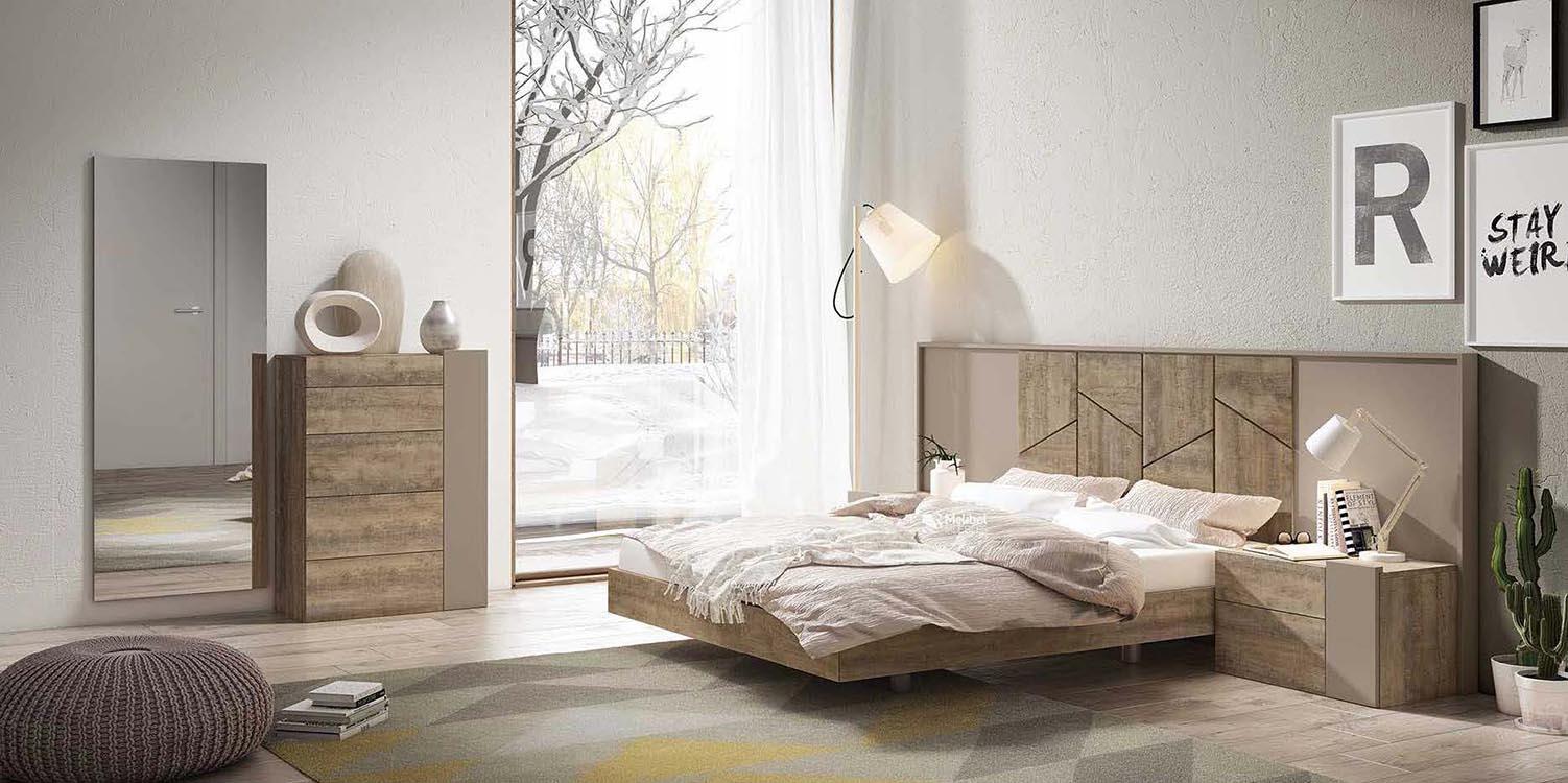 http://www.munozmuebles.net/nueva/catalogo/dormitorios-actuales.html -  Imágenes de muebles granates en tienda de Madrid