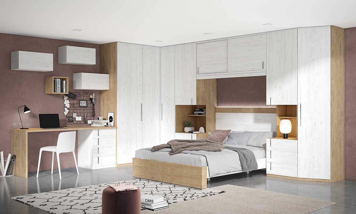 http://www.munozmuebles.net/nueva/catalogo/dormitorios-actuales.html - Foto con  muebles para jóvenes