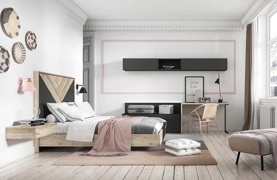 http://www.munozmuebles.net/nueva/catalogo/dormitorios-actuales.html - Ideas  sobre muebles rectangulares