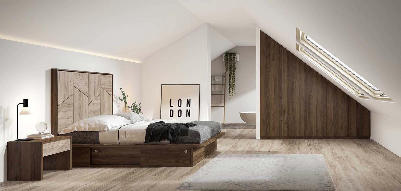 Cabeceros de cama color blanco - Camas para jovenes modernas ...