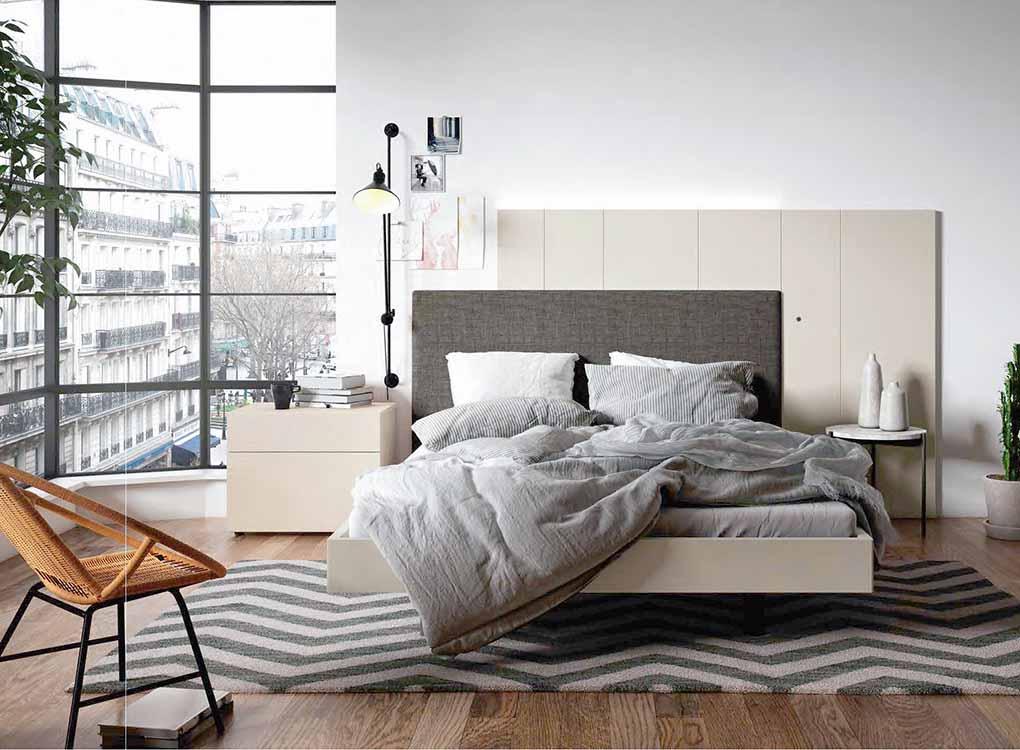 http://www.munozmuebles.net/nueva/catalogo/dormitorios-actuales.html -  Fotografía con muebles de color pastel