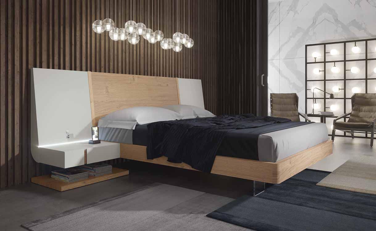 Camas bajas online for Muebles dormitorio modernos