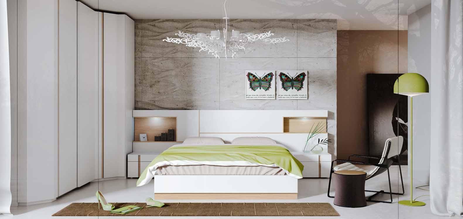 Muebles mu oz dormitorios actuales catalogo 4 for Catalogo habitaciones matrimonio
