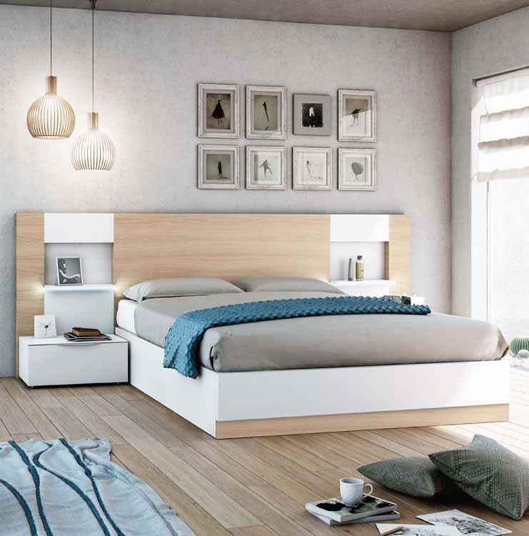 http://www.munozmuebles.net/nueva/catalogo/dormitorios-actuales.html - Mueble  blanco y marrón