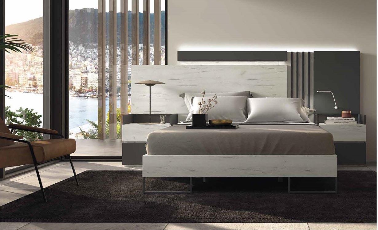 Dormitorios de matrimonio minimalistas for Catalogo de habitaciones juveniles