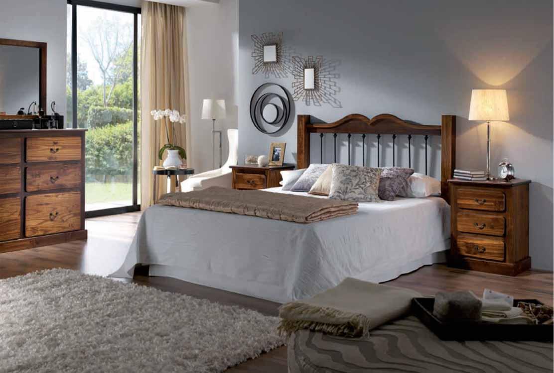 Dormitorios rusticos de matrimonio dormitorios de for Cuartos completos