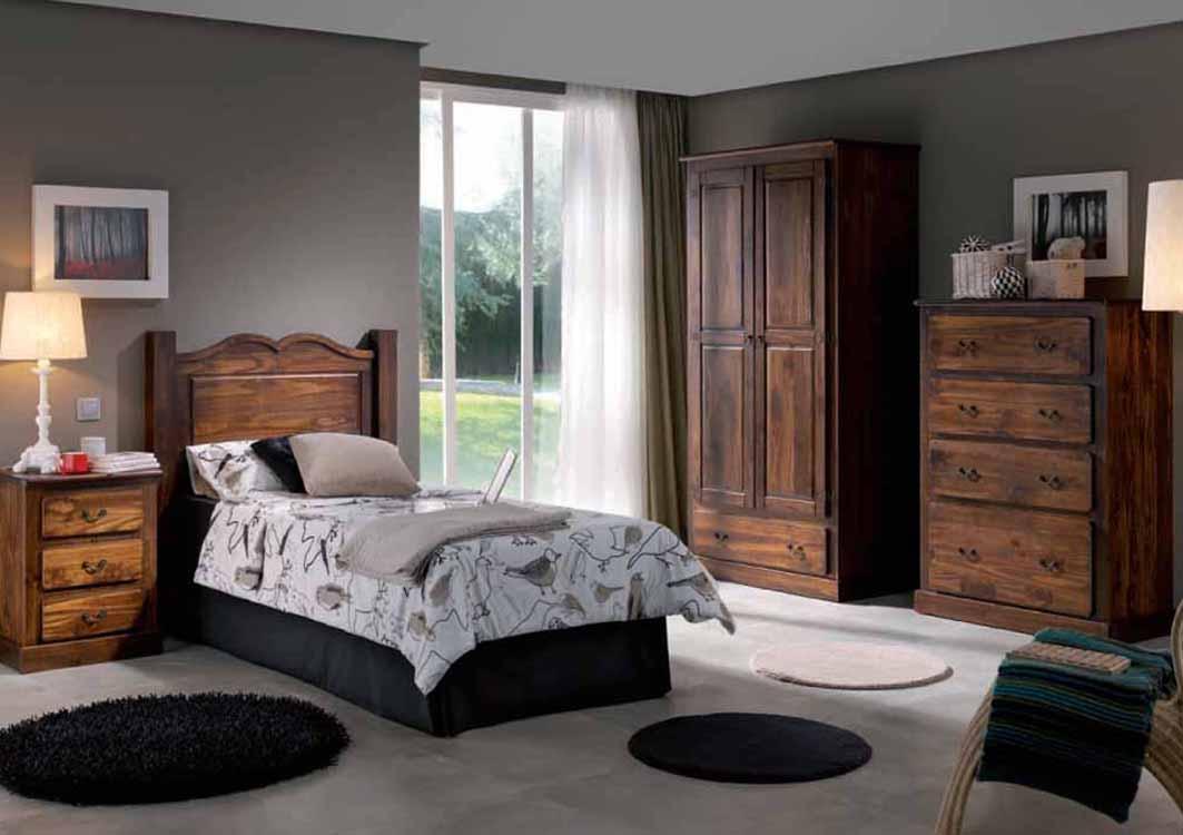 En Dormitorios Clásicos y Rústicos camas, cabeceros y pieceros