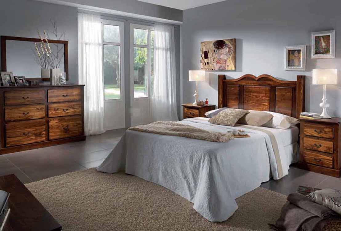 Dormitorios de madera for Dormitorios completos