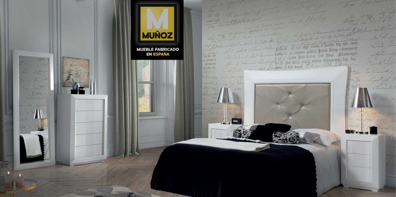 Muebles Muñoz  Modelo Código 0163  Catálogo 6  Dormitorios