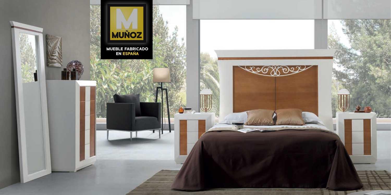 Dormitorios de matrimonio con armario for Cabeceros y canapes
