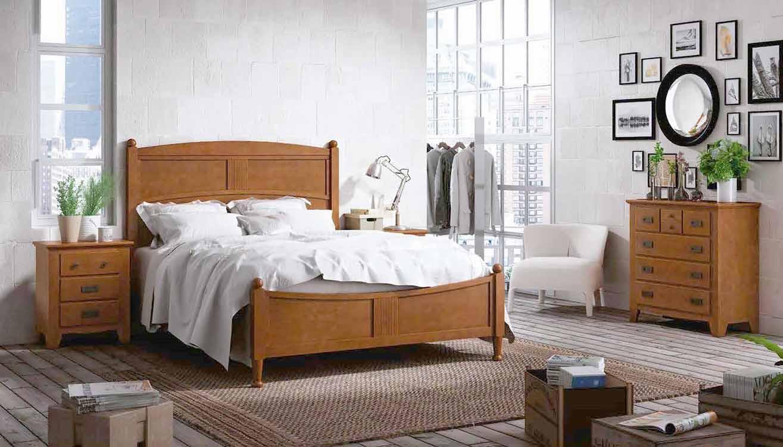 Modelo de camas cama de madera con cabecera modelo london hermosa modelo de camas en hierro - Camas grandes ...