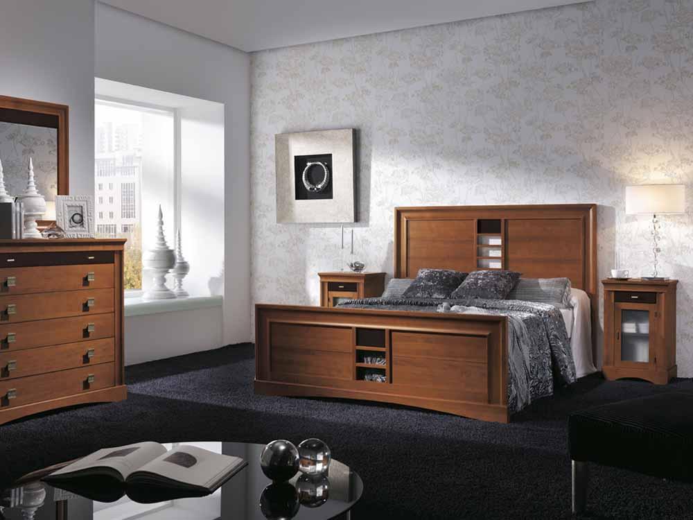 http://www.munozmuebles.net/nueva/catalogo/dormitorios-clasicos.html - Mueble  con espacio para ordenador en Toledo