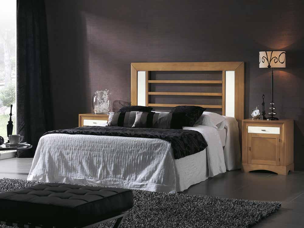 Cabeceros tapizados elegantes for Dormitorios completos baratos