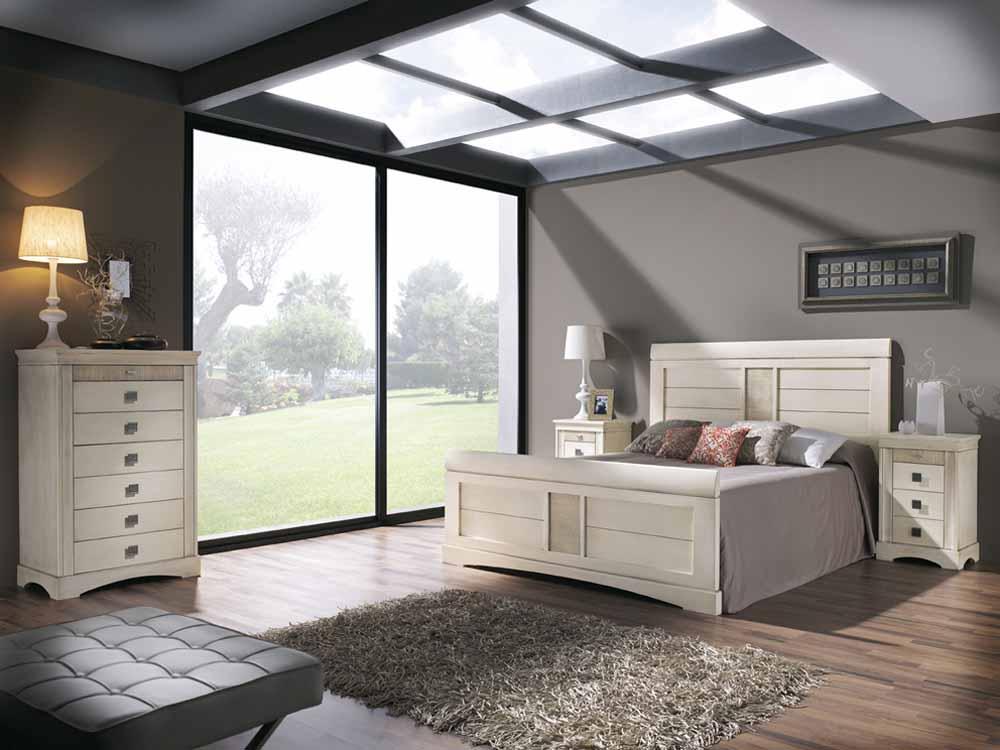 Armarios vestidores minimalistas for Dormitorios de matrimonio blancos