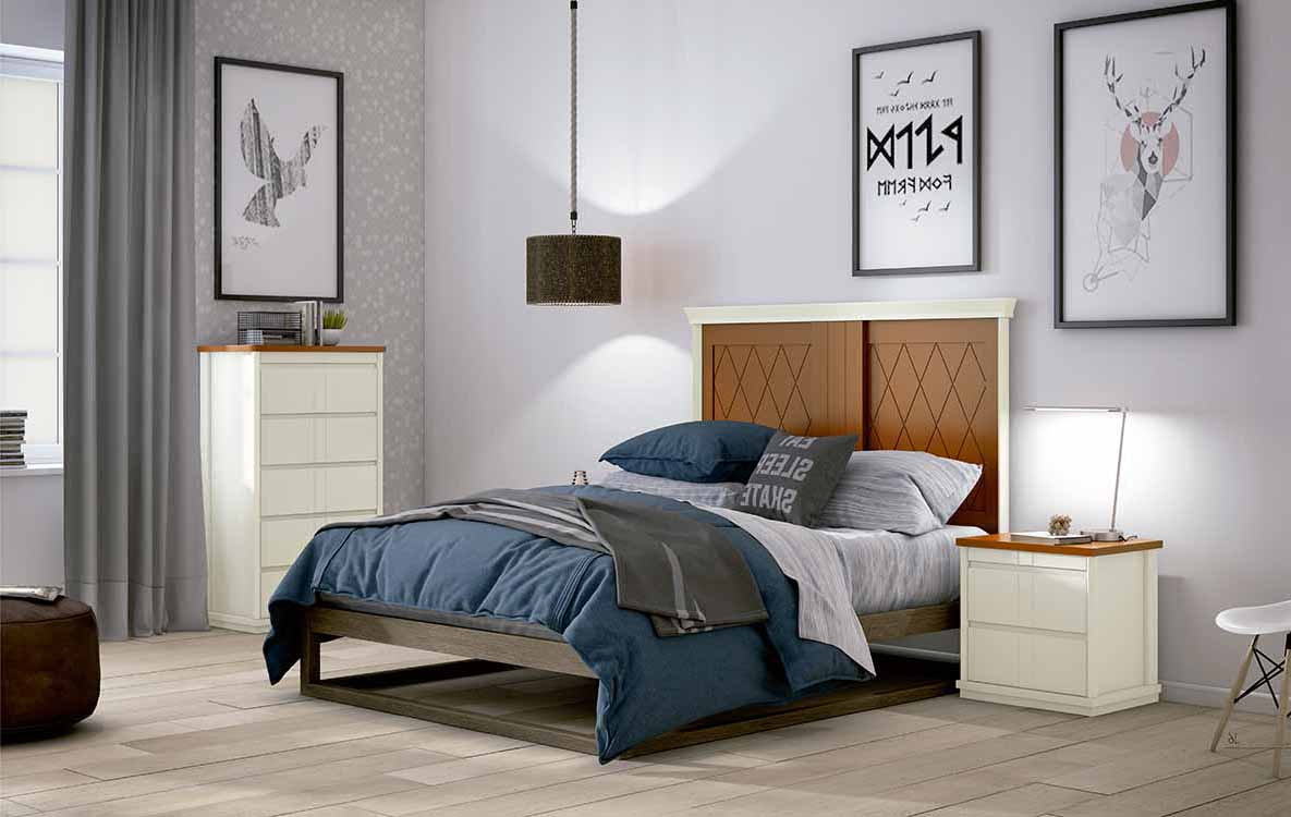 Dormitorios matrimonio juveniles for Cabeceros y canapes