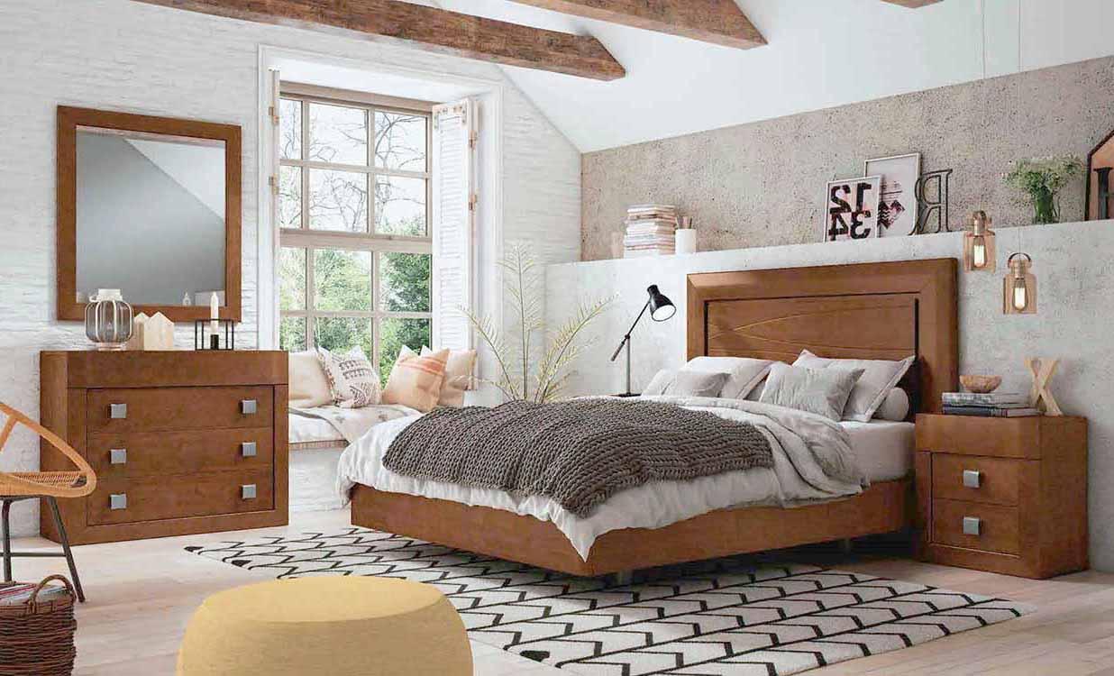 Dormitorios matrimonio peque os for Comodas dormitorio matrimonio