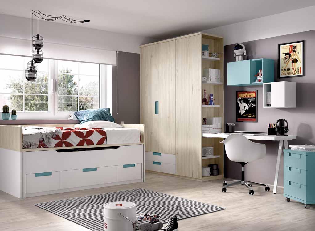 Habitaciones modernas color caf for Habitaciones juveniles completas baratas