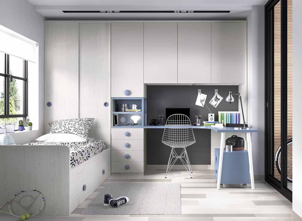http://www.munozmuebles.net/nueva/catalogo/juveniles-macizos.html - Foto con  muebles decapados en Madrid y provincia