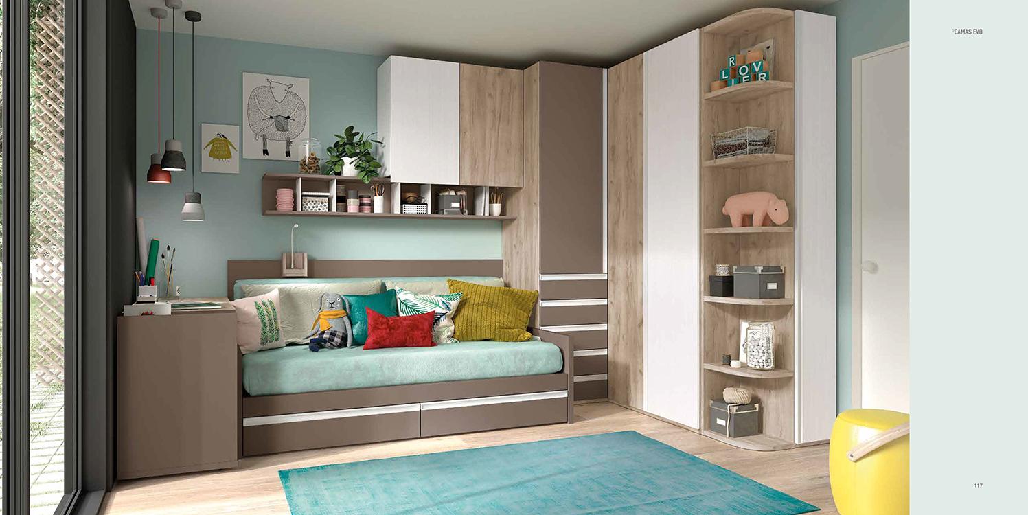 http://www.munozmuebles.net/nueva/catalogo/juveniles-modulares.html -  Composiciones de muebles con catálogo