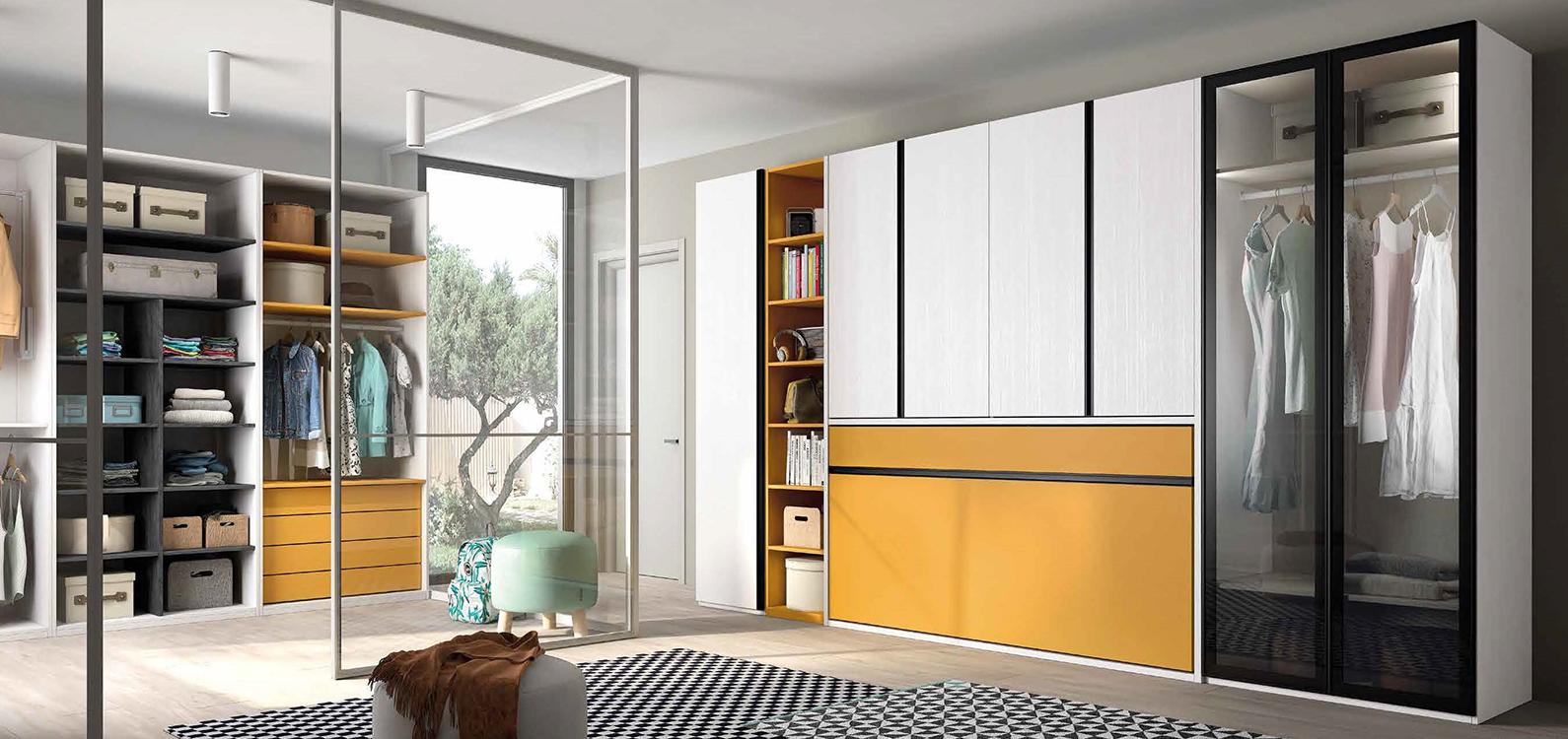 Armarios funcionales for Muebles modulares juveniles
