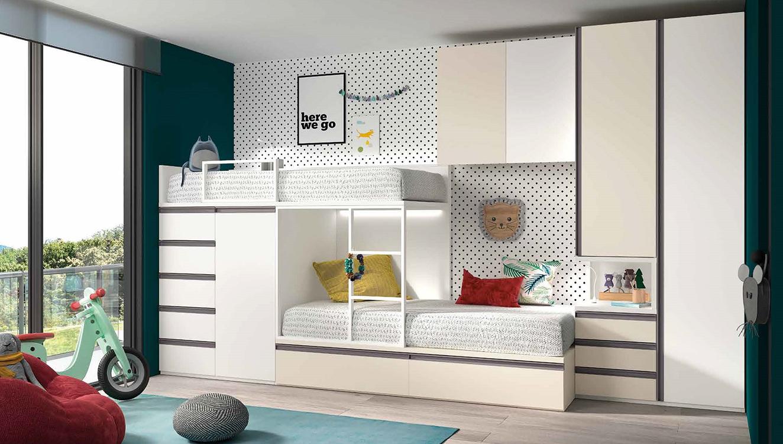 http://www.munozmuebles.net/nueva/catalogo/juveniles-modulares.html - Mueble de  colección moderna en carretera de extremadura