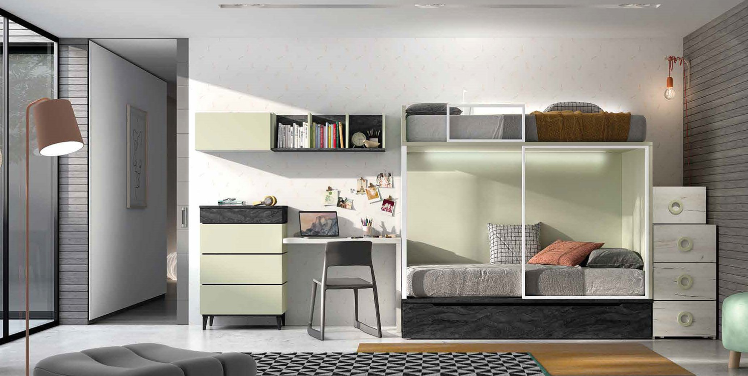 http://www.munozmuebles.net/nueva/catalogo/juveniles-modulares.html - Estilo de  muebles modernos